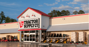 The front of Tractor Supply